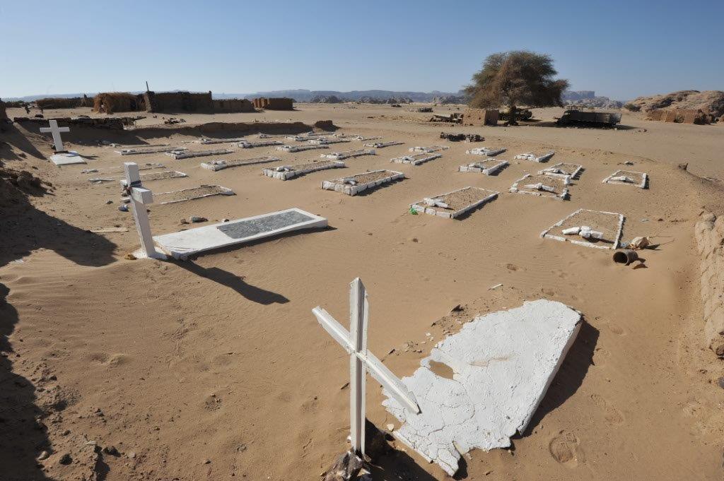 cimitero francese Zouar