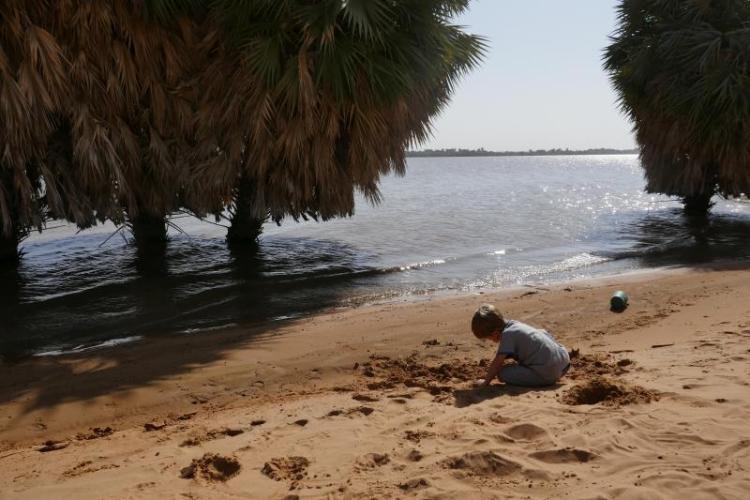 castelli di sabbia sul nilo